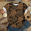 ALL BROWN SEA TURTLE T-SHIRT