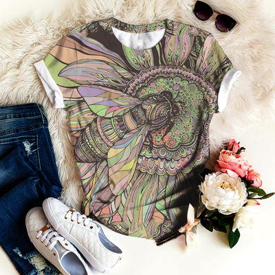 BEE FLORAL T-SHIRT