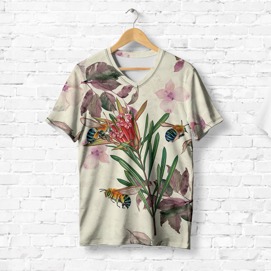FLORAL BEE T-SHIRT