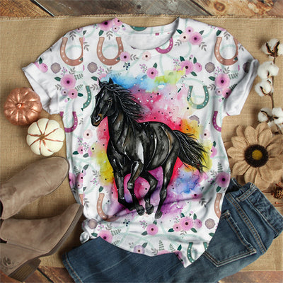 KEEP RUNNING DARK HORSE T-SHIRT