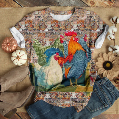 ROOSTER FAMILY T-SHIRT