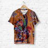 COLORFUL MANDALA ROOSTER T-SHIRT