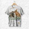 KISSING RABBIT COUPLE T-SHIRT