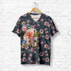 BIRD WITH ROSES T-SHIRT