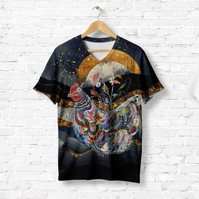 STARRY NIGHT ROOSTER T-SHIRT