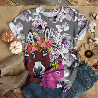 COLORFUL DONKEY T-SHIRT