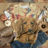 LITLLE DOG WAITING T-SHIRT