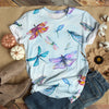 COLORFUL DRAGONFLY T-SHIRT