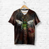 Colorful Vintage Bee T-shirt