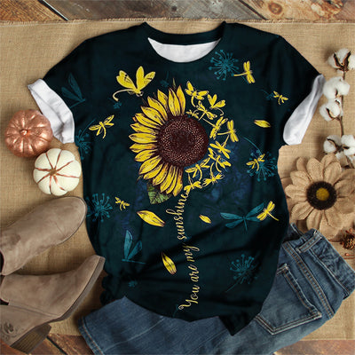 YOU ARE MY SUNSHINE DRAGONFLY T-SHIRT