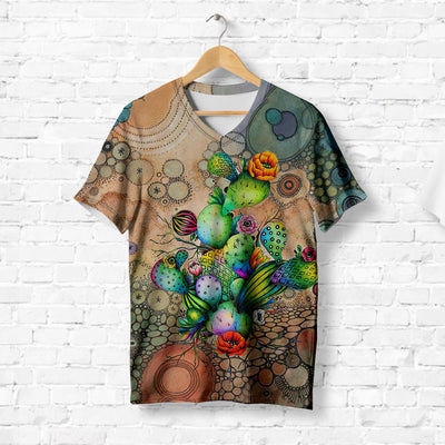 COLORFUL CACTUS T-SHIRT