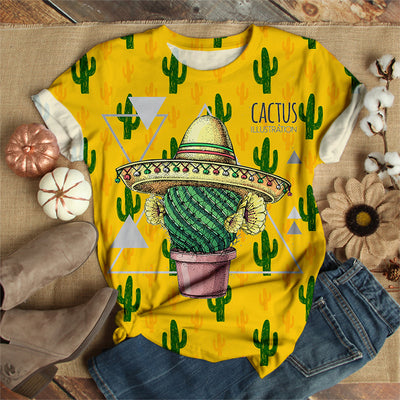 COOL MEXICAN CACTUS T-SHIRT