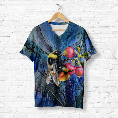 Bumblebee With Flowers T-shirt
