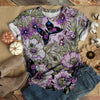 GORGEOUS PURPLE BUTTERFLY T-SHIRT