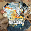 CANCER ZODIAC PATTERN T-SHIRT