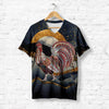 ROOSTER UNDER THE MOON T-SHIRT