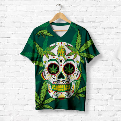 TROPICAL SKULL T-SHIRT