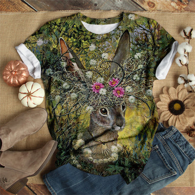 RABBIT IN THE JUNGLE T-SHIRT
