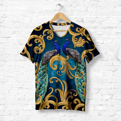 PEACOCK COUPLE T-SHIRT
