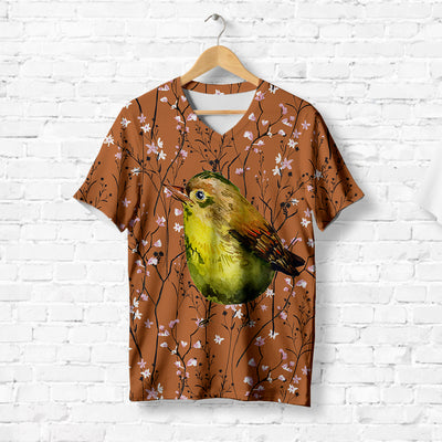 YELLOW-BREASTED BIRD T-SHIRT