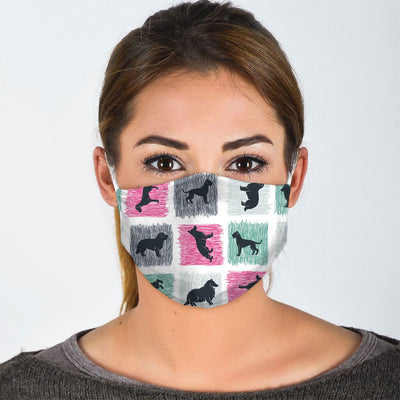 MULTIPLE DOGS FACE MASK