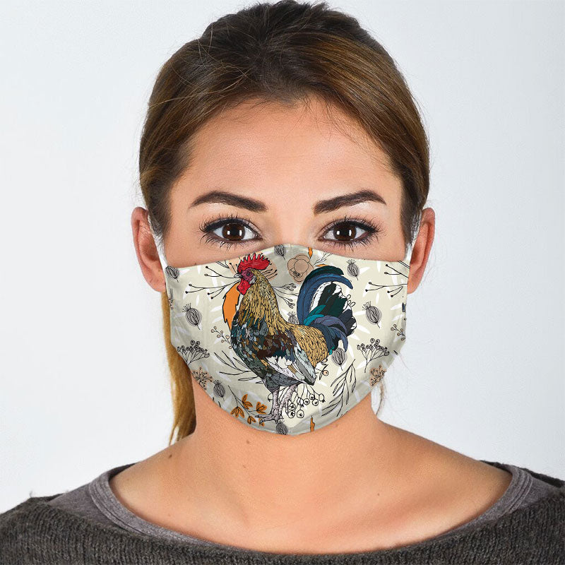 ROOSTER FACE MASK