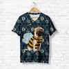 DOG IN BEE COSTUME T-SHIRT