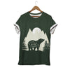 THE POETRY OF NATURE IS EVERYWHERE ON BEAR'S BACK T-SHIRT