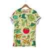 Tomato Beans Carrot Cauliflower Vegan T-shirt
