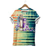 COLORFUL OLD BOOK T-SHIRT