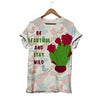 Be Beautiful And Stay Wild Cactus T-shirt