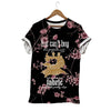 FLORAL SEWING T-SHIRT
