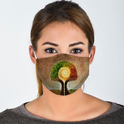 TREE OF LIFE FACE MASK