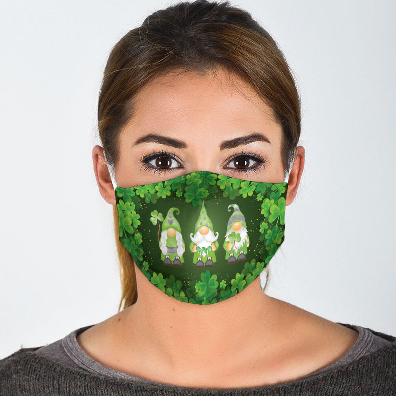 ST PATRICK LEPRECHAUNS FACE MASK