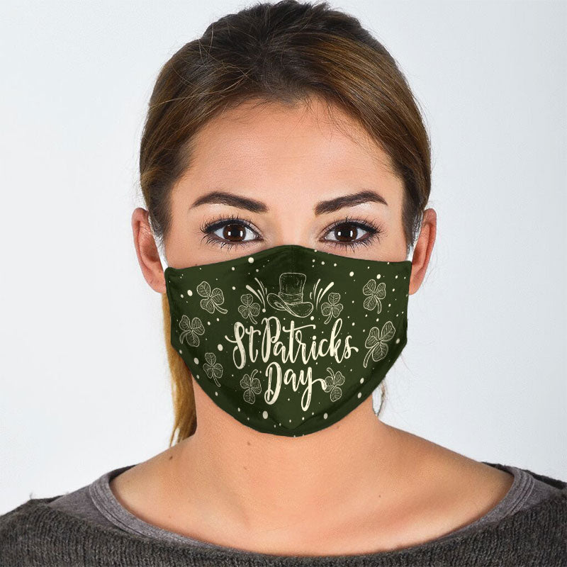 ST. PATRICK'S DAY FACE MASK