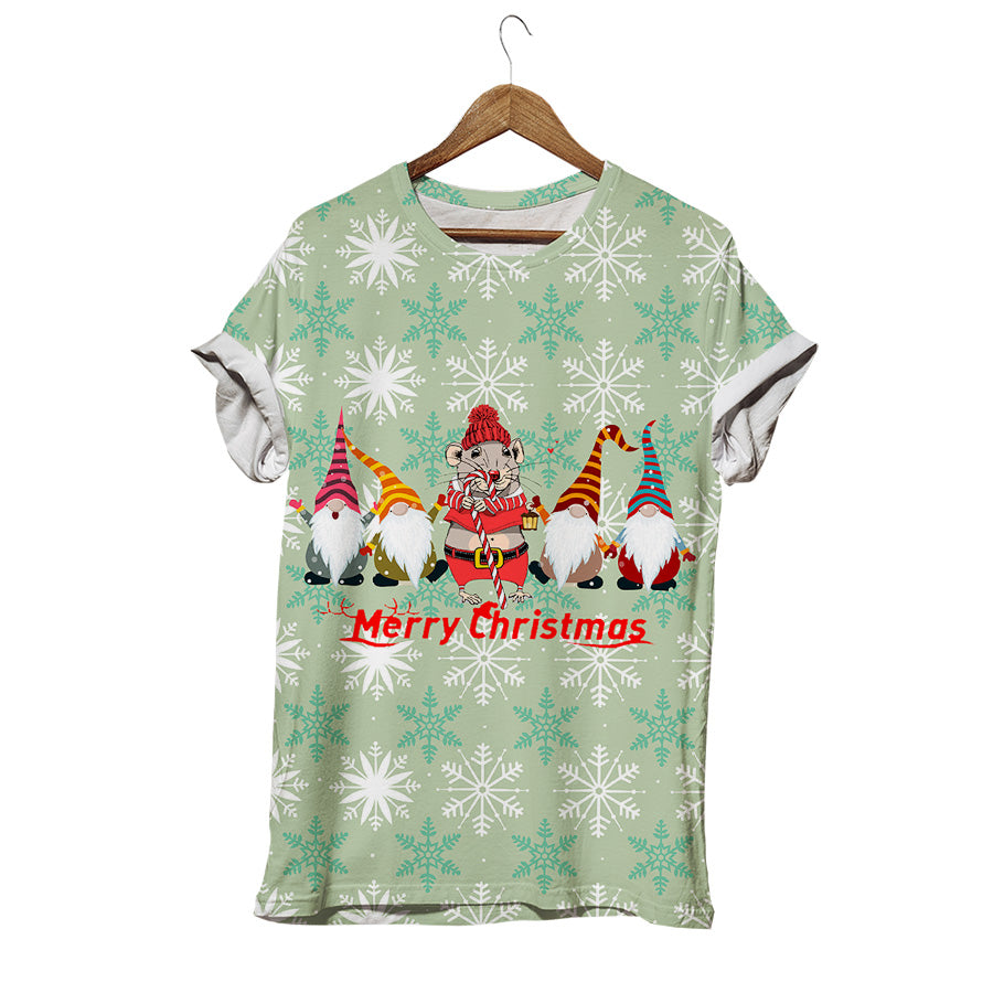 CHRISTMAS MOUSE T-SHIRT