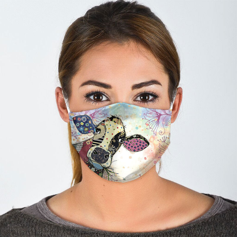 DREAMY COW FACE MASK