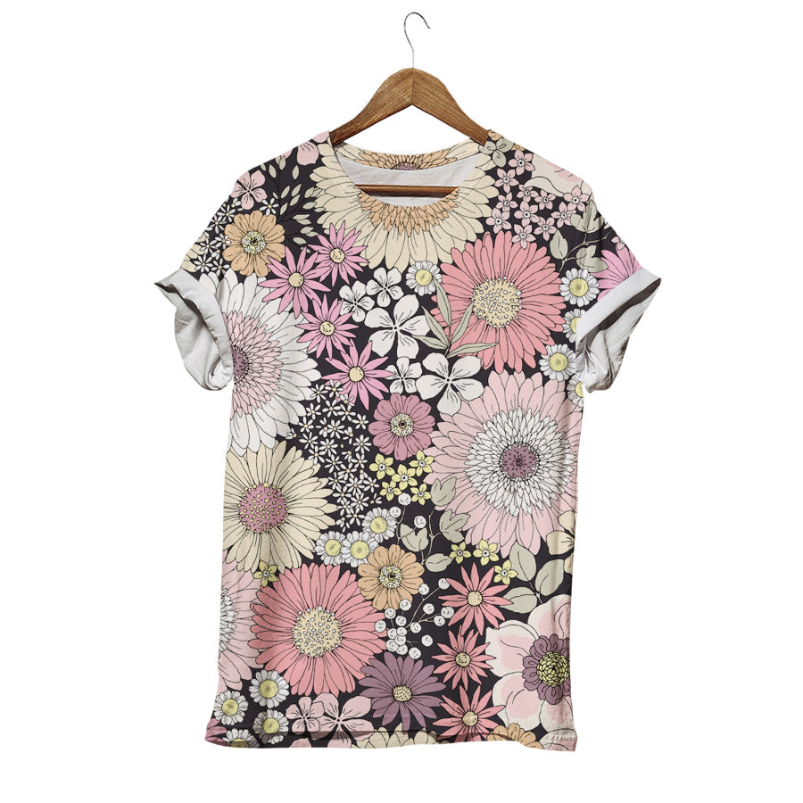 GORGEOUS LITTLE GERBERA T-SHIRT
