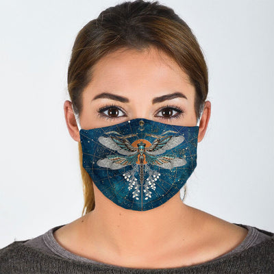 TWINKLE LITTLE DRAGONFLY FACE MASK