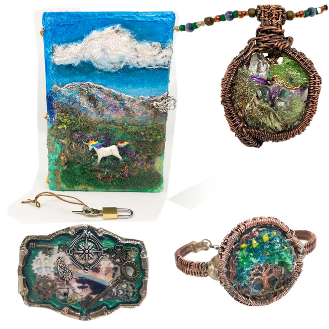 Steampunk Designs, Hand Crafted Journals, Jewelry & Dragon Eyes