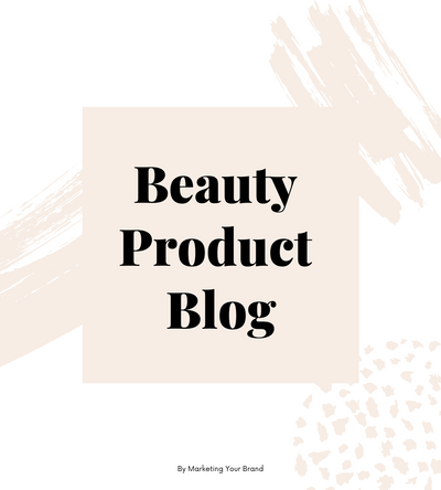 Beauty Product Client: Article 1