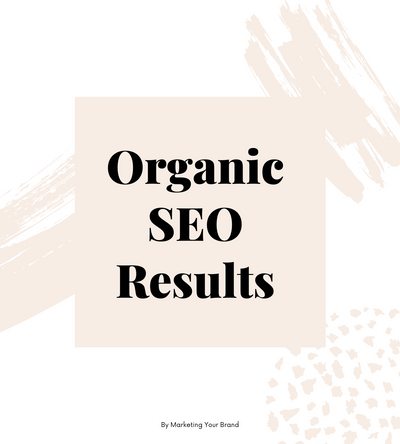 Organic SEO Results: Project Bower