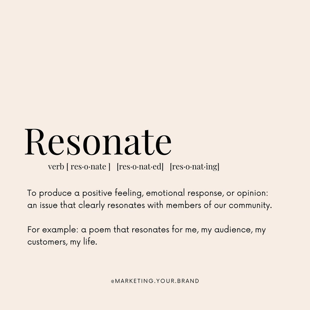 definition of resonate