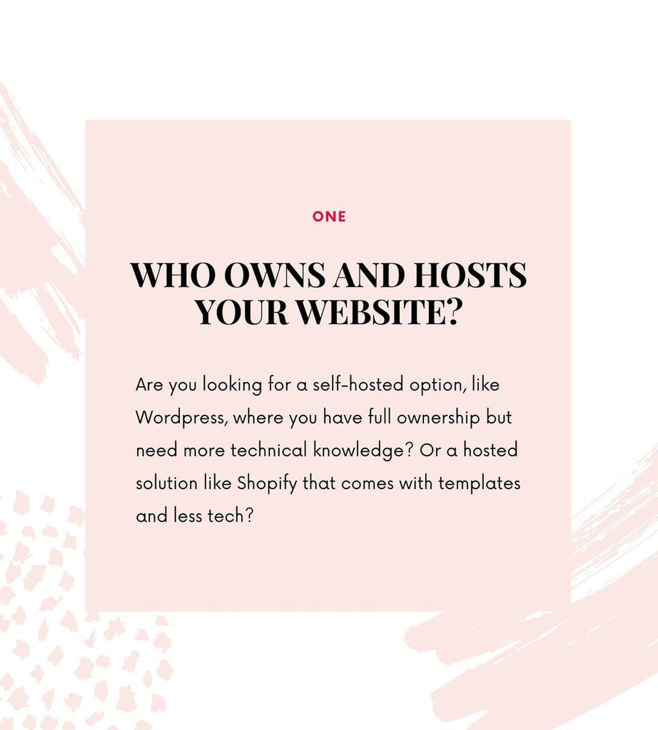 Who Owns and Hosts Your Website