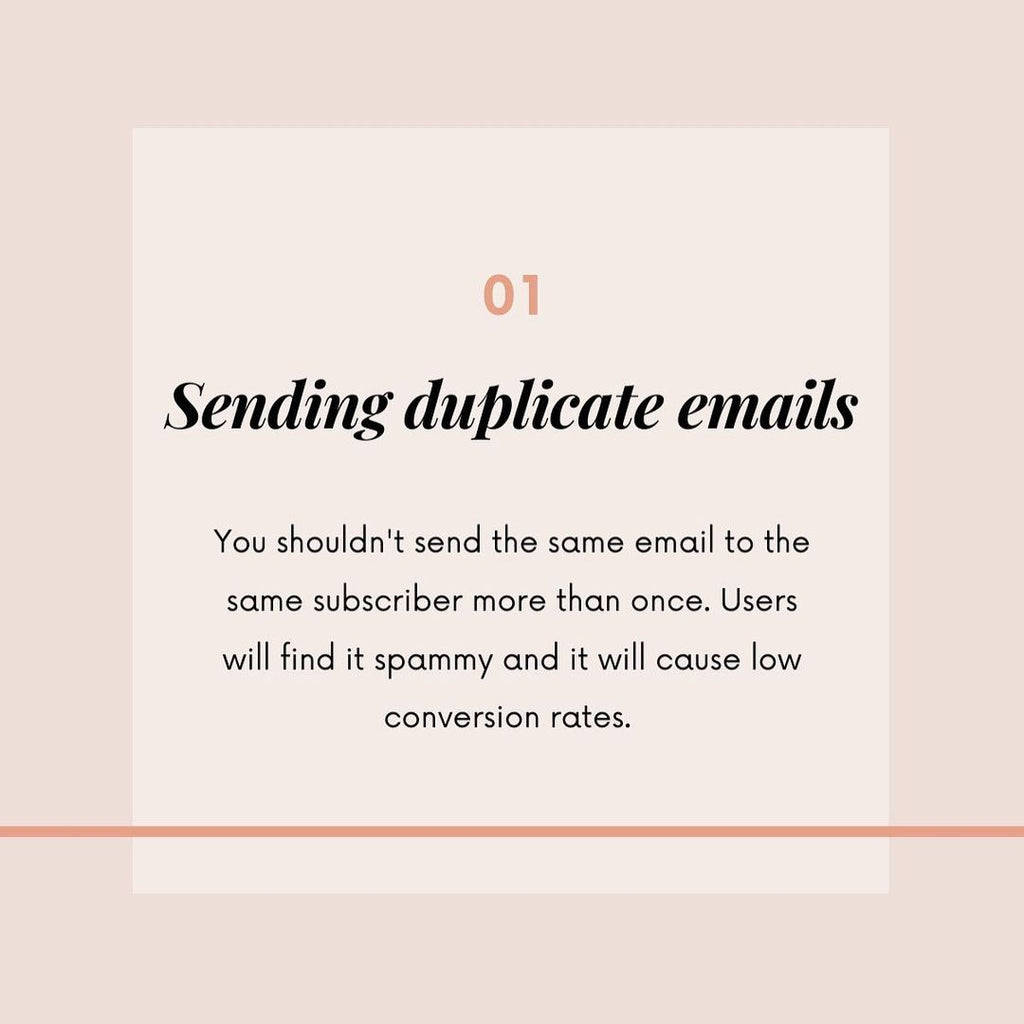email marketing mistakes 1