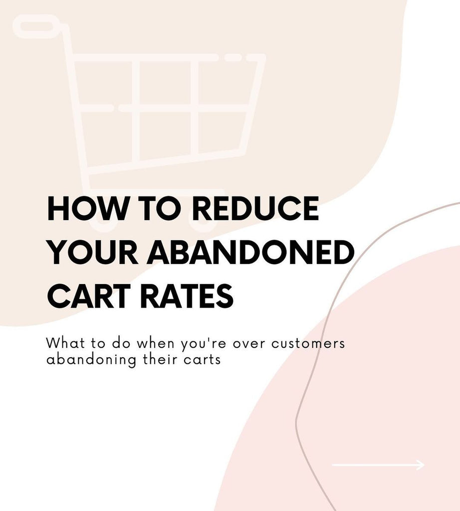 How to reduce your abandone cart rates