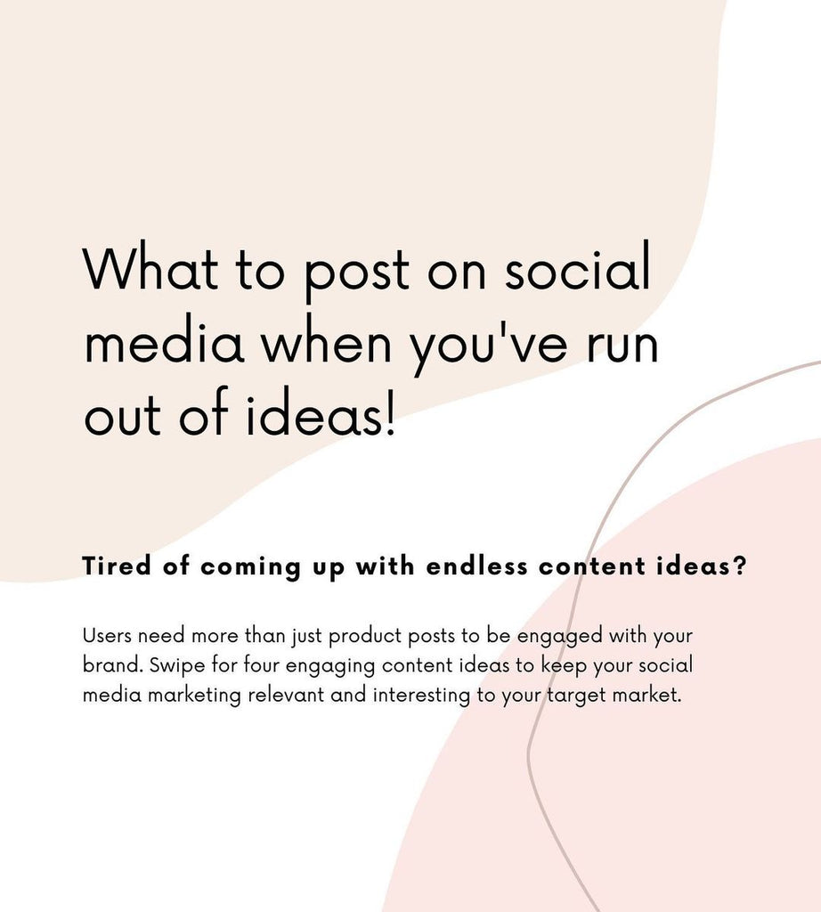 What to post on social media when you've run out of Ideas!