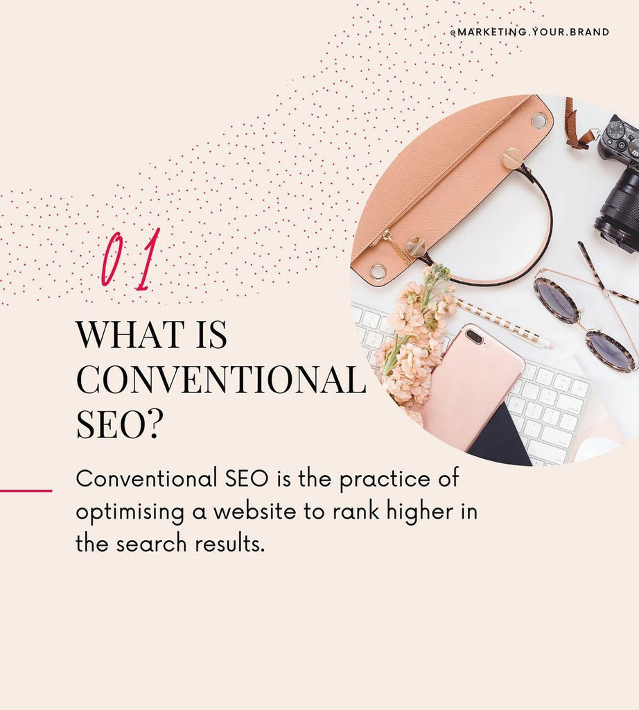 what is conventional SEO