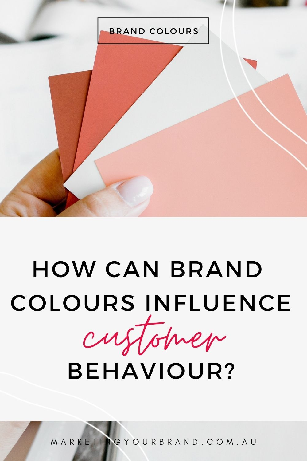 how can brand colours influence your customers behaviour