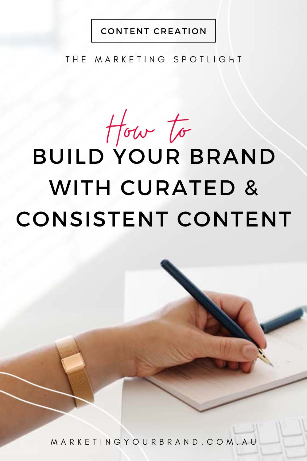 how to create consistent and curated content